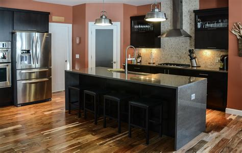 kitchen ideas with black cabinets countryside cabinets kitchen installation portfolio 8120