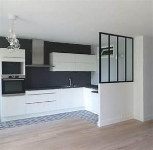 Comment planifier l39amenagement d39une cuisine ouverte for Idee deco mur cuisine ouverte