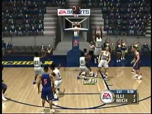 EA Sports NCAA March Madness 2004 (X Box) Game Play - YouTube