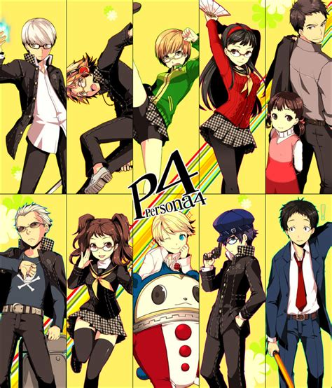 Persona 4 The Animation Wallpaper - persona 4 the anime the animation images i just put the