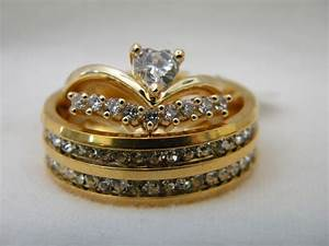3 piece his and hers wedding ring set couples wedding With 3 piece his and hers wedding rings