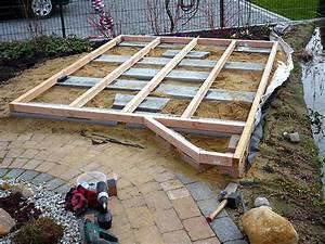 Terrassen Unterkonstruktion Alu Abstand : holzdeck oder holzterrasse am gartenteich bauen heimwerker ~ Yasmunasinghe.com Haus und Dekorationen