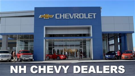 Nh Chevrolet Dealership Website Streamlines Buying Process