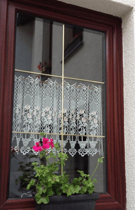 Scheibengardine Für Balkontür by Die Renaissance Der Scheibengardine Mode Spitze