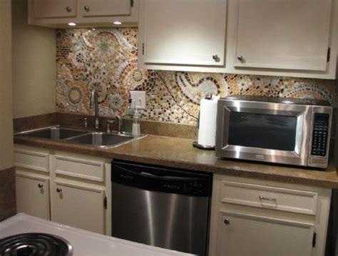 Diy Kitchen Backsplash Tile Ideas by 16 Inexpensive Easy Diy Backsplash Ideas To Beautify