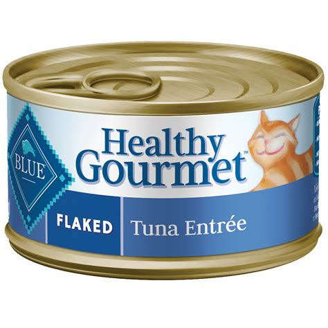 best canned cat food blue buffalo healthy gourmet flaked tuna canned cat food