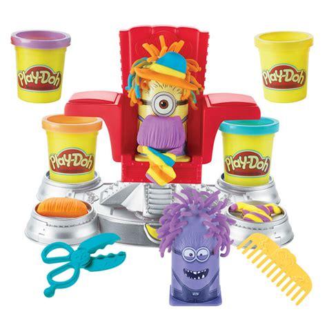 le coiffeur minions play doh king jouet pate 224 modeler modelage et gravure play doh jeux