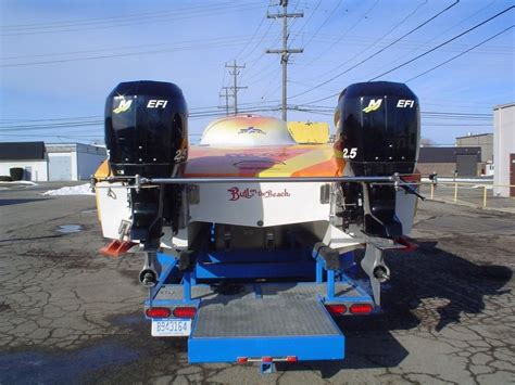 Steel Boat Trailer For Sale by Steel 30ft Cat Race Trailer For Sale Or Trade