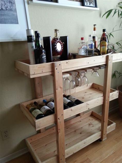 white kitchen cart island 14 inspiring diy bar cart designs and makeovers