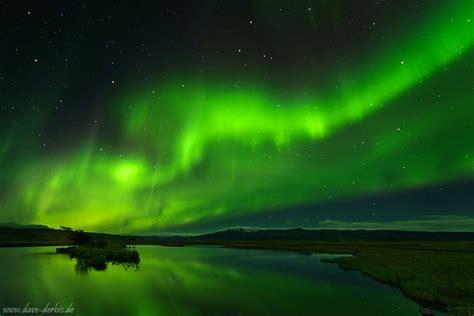 northern lights reflection iceland dave derbis