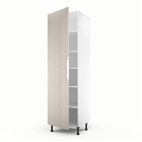 meuble colonne chambre meuble de cuisine colonne décor bois 1 porte nordik h 200