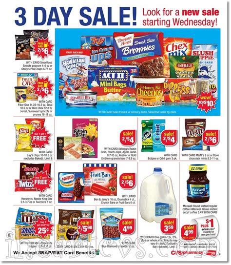 Cvs Sales by I Cvs Ads 07 01 07 03 3 Day Sale
