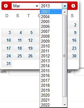 jsf limited date calendar primefaces stack overflow