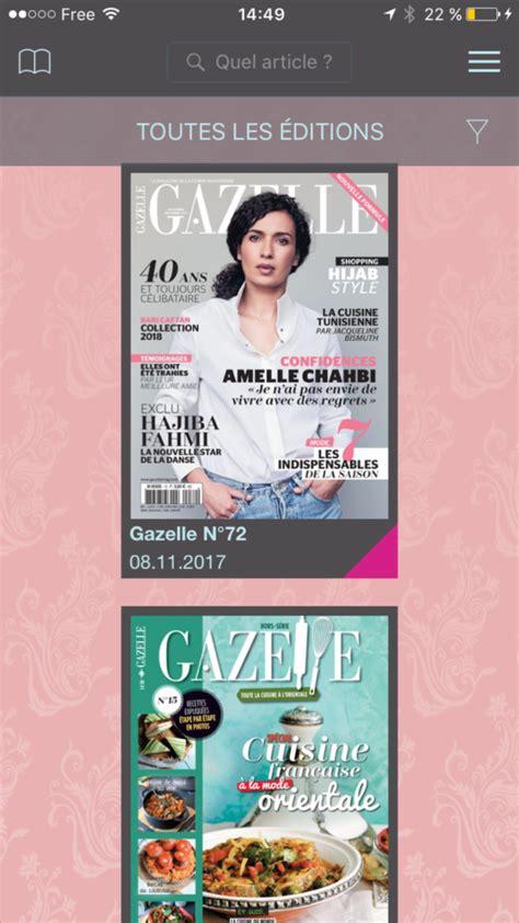 magazine gazelle cuisine le dernier numéro de gazelle cuisine