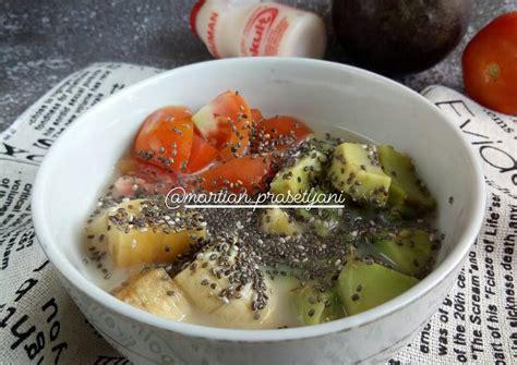 Resep cara membuat es kelapa muda rasa lemon. Resep Sup buah yakult simple oleh Martian Prasetyani - Cookpad