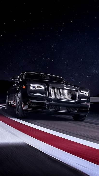 Royce Rolls 4k Wraith Race Badge Mobile
