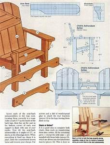 Childrens Adirondack Chair Plans • WoodArchivist