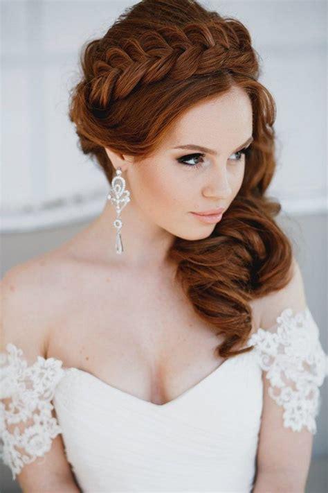 braided wedding crown hairstyle Deer Pearl Flowers