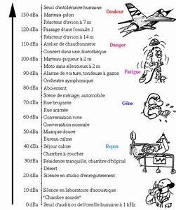 Echelle De Bruit Decibel : l 39 oreille ~ Medecine-chirurgie-esthetiques.com Avis de Voitures