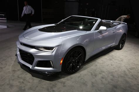 Camero New by Chevy Surprises With 2017 Zl1 Camaro Convertible At The