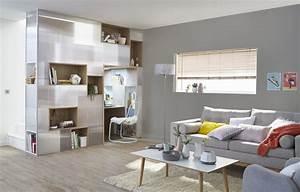Bureau Sous Escalier : un bureau dans le salon sous l 39 escalier leroy merlin ~ Farleysfitness.com Idées de Décoration