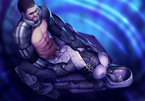 mass effect comission by lavah hentai foundry
