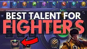 BEST EMBLEM TALENT FOR ALL HEROES FIGHTERS Mobile