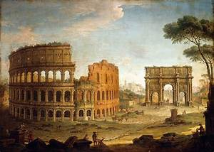 Rome view of the colosseum - Antonio Joli | Italy and the ...