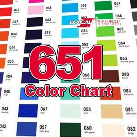 oracal 651 color chart color chart only oracal 651