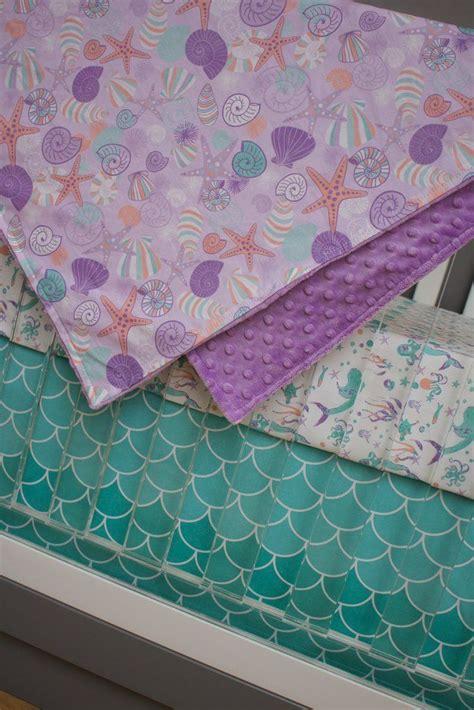 Mermaid Crib Bedding by 25 Best Ideas About Mermaid Nursery Theme On
