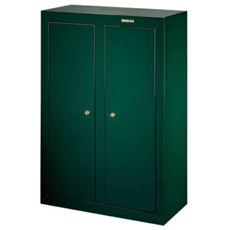 Kitchen Cabinet Hardware Placement Options by Stack On 16 Gun Convertible Double Door Cabinet Gcdg 9216