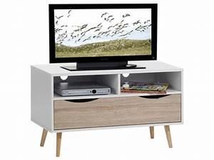 Meuble Tv Carrefour : meuble tele 100 cm choix d 39 lectrom nager ~ Teatrodelosmanantiales.com Idées de Décoration