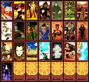 Avatar Tarot - Major Arcana | Tarot Arcana Parodies | Know ...