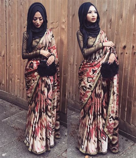 hijab  saree images  pinterest hijab