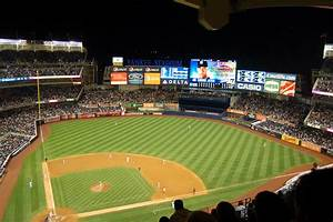 Yankee Stadium at night | The thoughts of the wild