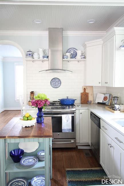 image of kitchen design 1 white kitchen 3 ways timeless blue and white 4616
