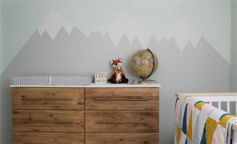 mountain nursery decor project nursery