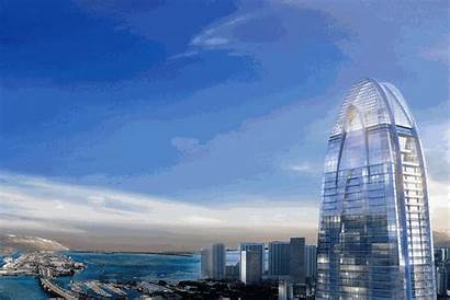 Miami Tower Downtown Projects Okan Sterling Rendering