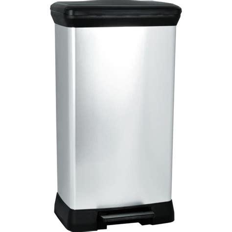 poubelle cuisine pas cher poubelle à pédale achat vente poubelle à pédale pas cher cdiscount