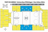 Yost Ice Arena | Michigan, Arena, Michigan hockey