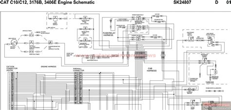 Cat Ecm Pin Wiring Diagram by Cat C7 Engine Ecm Wiring Diagram Wiring Solutions