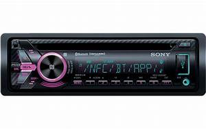 Sony Single Din Cd Receiver With Bluetooth