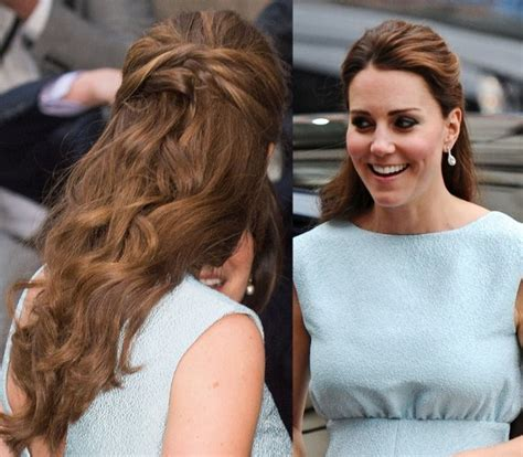 how to get kate middleton hairstyle 3 steps to make half