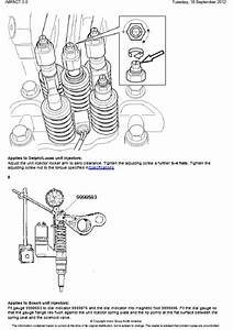 Volvo Nh Valves And Unit Injectors  Adjust