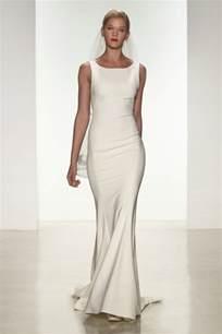 sleek wedding dresses designer wedding dresses amsale 2015 bridal collection
