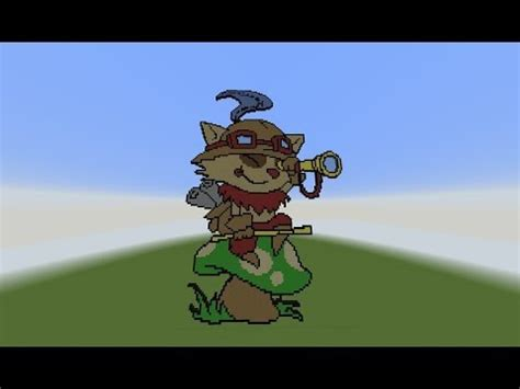 chillout league  legends  minecraft teemo