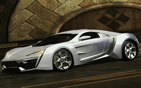 Need For Speed Underground 2 Various W Motors Lykan ...
