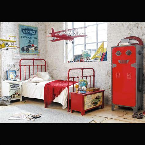 chambre style usine chambre ado style industriel