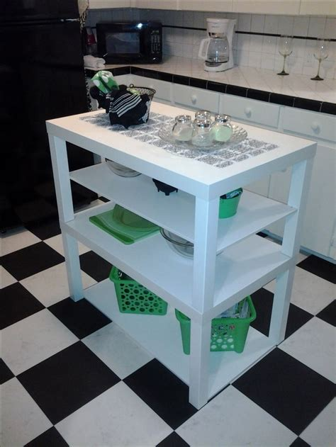 Kitchen Table Hack by Best 25 Ikea Lack Hack Ideas On Tile Tables