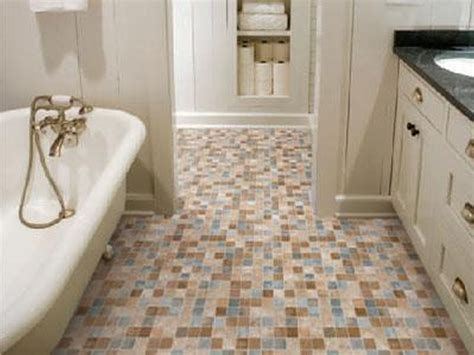 Home Tiles : Small Bathroom Floor Tile